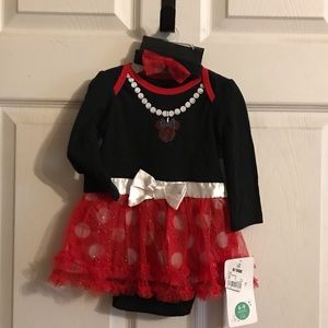 Disney Baby Minnie Mouse Dress with Tulle
